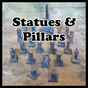 Statues & Pillars