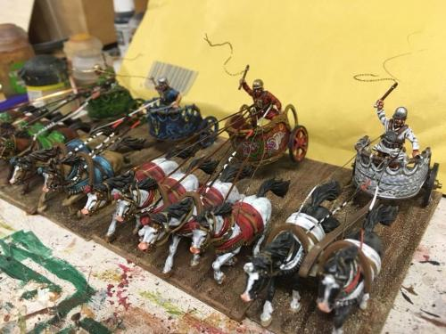 Racing Chariots by Dicky Boyd.