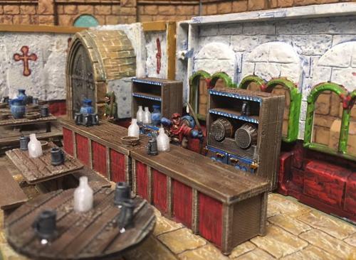 Tavern Bar & Accessories by Dicky Boyd.